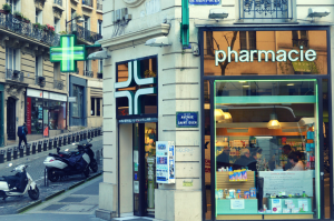 French pharmacy in Paris