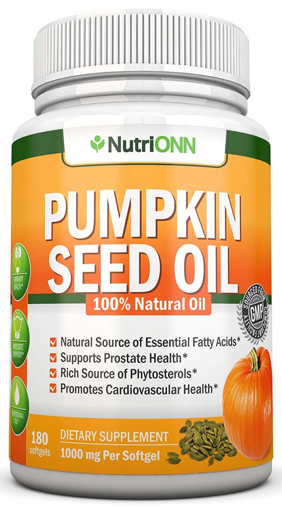 Pumpkin oils capsules for pms